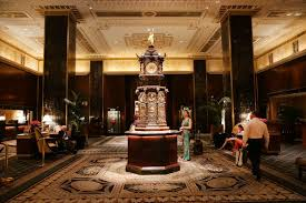 waldorf astoria s iconic art deco interiors become an nyc interior spencer platt getty images