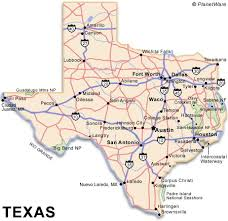 tecas map travel guide planetware