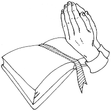 praying hands coloring page design kids design kids