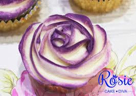 two tone buttercream rose cupcake tutorial youtube