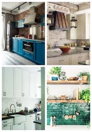 photos of kitchen backsplashes 25 timeless brick kitchen backsplashes comfydwelling com