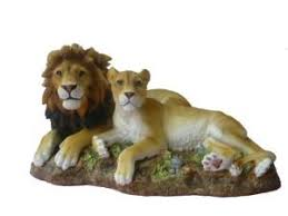 lioness statue stephen gayford limited edition pair lion and lioness