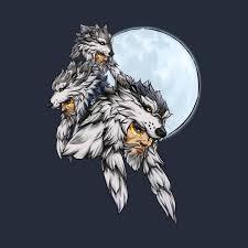 three wolf moon hanzo overwatch t shirt teepublic