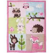 baby boom woodland 10 piece crib bedding set walmart com