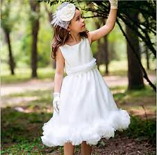 find more flower dresses information about white flower gilr