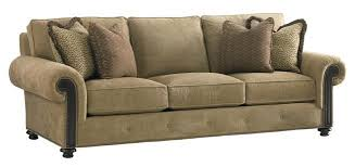 Tommy Bahama Sofa by Tommy Bahama Home Kilimanjaro Riversdale Sofa With Rolled Exposed