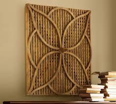 wood lattice wall garden lattice pottery barn
