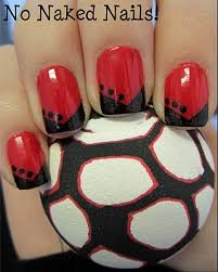 50 best red and black nails images on pinterest red nails make