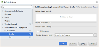 android gradle how to move gradle folder for android studio tek eye