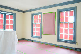 Interior Paint Prep Using A Paint Sprayer For Trim Instead Of A Brush Young House Love