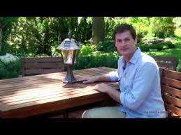 gama sonic solar lights gama sonic baytown solar post mount solar l product review