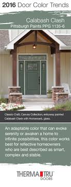 Exterior Doors Pittsburgh 2016 Door Color Trends Front Doors Doors And Canvases