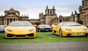 yellow lamborghini png fastest car in the world on display at blenheim palace classic