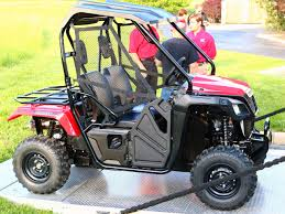 honda 500 2015 honda pioneer 500 side x side first ride and review atv