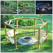 Firepit Swing Hexagon Pit Swing Porch Swing Are Awesome Pallet Wood