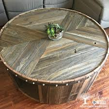 from inspiration to in my living room reclaimed wood coffee table