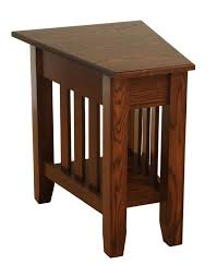 wedge shaped end table end tables designs wedge shaped end tables ohio drawer interior