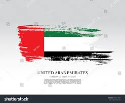 Colors Of Uae Flag Flag United Arab Emirates Uae Flag Stock Vektorgrafik 552511807