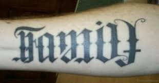 63 fabulous ambigram tattoos on arm