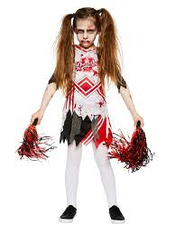 Kids Zombie Costume Zombie Cheerleader Costume Ideas For Kids Party Delights Blog