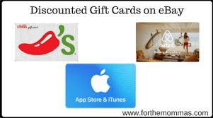 discounted giftcards discounted gift cards on ebay chili s lowe s bp gas airbnb