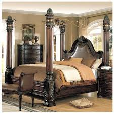 queen bed queen 4 poster bed steel factor