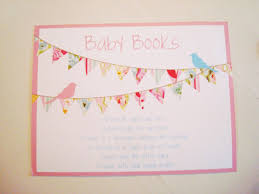 bring a book instead of a card poem poems for book themed baby shower invitations guest to bring