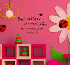 online get cheap spices wall decals aliexpress com alibaba group sugar and spice and everything nice that s what little girls are made of inspirational quotes home decor decal wall sticker