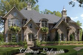 french country homes chateau lafayette french country house plan house plans by