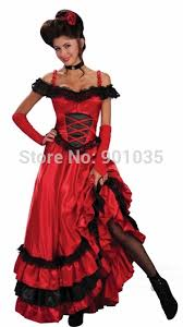 Cowgirl Halloween Costumes Adults Free Shipping Ladies Saloon Wild West Burlesque Cowgirl