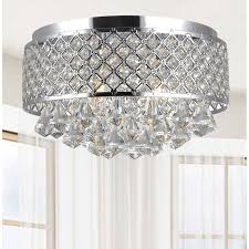Crystal And Chrome Chandelier 358 Best Lamparas Images On Pinterest Crystal Chandeliers