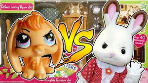 Calico Critters Living Room by Lps Bunny Vs Real Bunny Calico Critters Deluxe Living Room Set