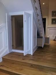 access door for under stair storage my own ideas pinterest