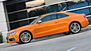 audi orange color bye bye green audi the about cars