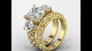 vancaro wedding rings vancaro vintage three cubic zirconia unique wedding rings