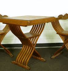 Modern Chess Table Chess Table And Chairs 202 Modern Chess Table Amp Chairs Lot