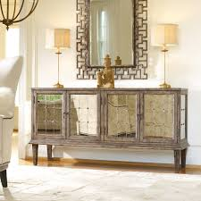 living room consoles furniture living room mirrored console four door for cabinet modern