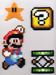 mario etc in perler beads by bluekecleon15 on deviantart bead
