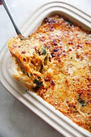 spaghetti squash italian style casserole s clean
