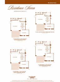 Garage With Workshop Las Sendas Floor Plans U2014 The Bearse Team