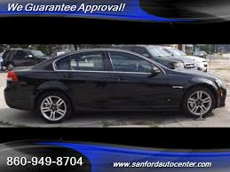 2008 pontiac g8 for sale in norwich ct stock 126380