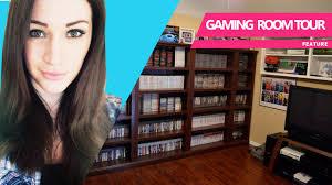 my gaming room setup tour youtube