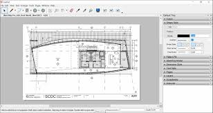 layout template drawing tools design element u office layout plan