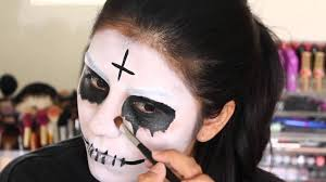 the purge 2 anarchy halloween makeup tutorial youtube