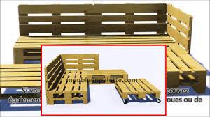 fabriquer un canap en palette comment construire un canapé de palette pour le jardin