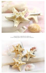 starfish hair clip 2018 fashion diy starfish hair clip barrettes hair