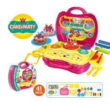 valise cuisine enfants simulation cuisine cuire vaisselle commode caissier outil