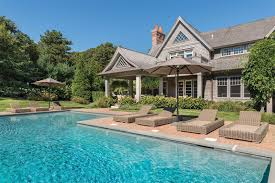 backyard home theater food network darling katie lee selling decked out hamptons estate