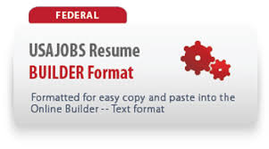 Sample Usajobs Resume by Federal Resume Samples The Resume Place