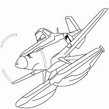 coloriage ã dessiner avion 2 ans